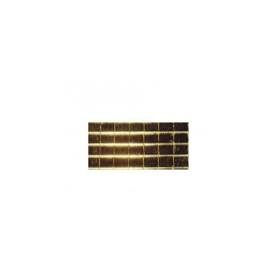 Zelfplakkende mozaiek steentjes goud
