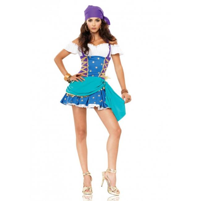 Zigeunerinnen jurkje voor dames