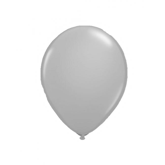 Zilveren ballonnen met LED lichtjes
