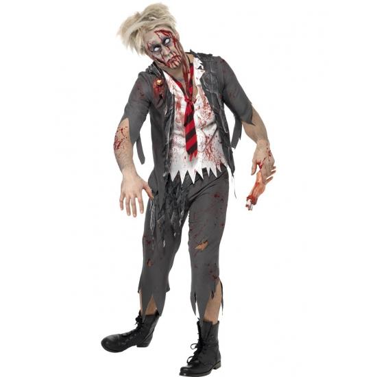 Zombie schooljongens kostuum