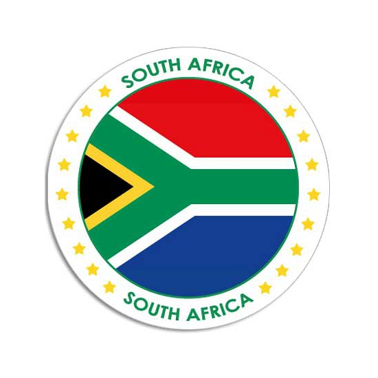 Zuid Afrika stickers