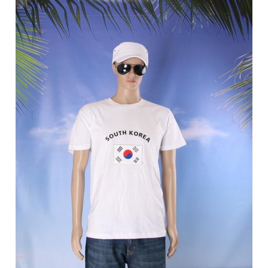 Zuid Korea vlaggen t shirts