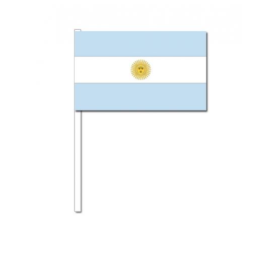 Zwaaivlaggetjes Argentijnse vlag