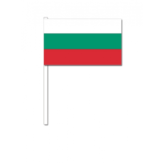 Zwaaivlaggetjes Bulgarische vlag