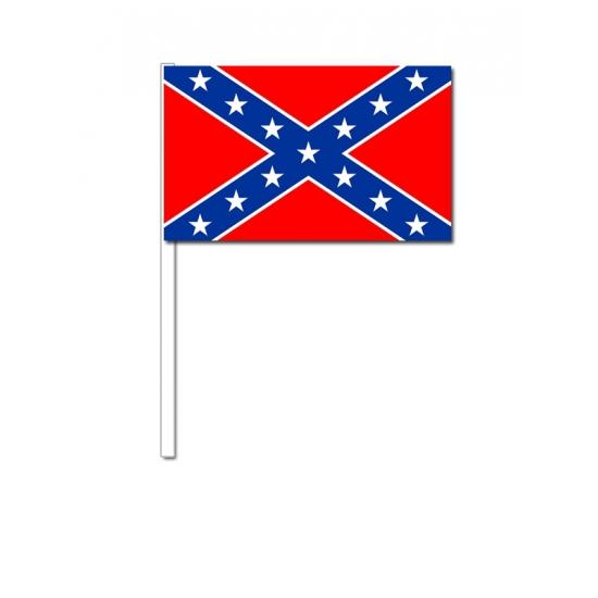 Zwaaivlaggetjes Confederatie vlag