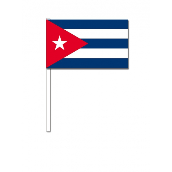 Zwaaivlaggetjes Cubaanse vlag