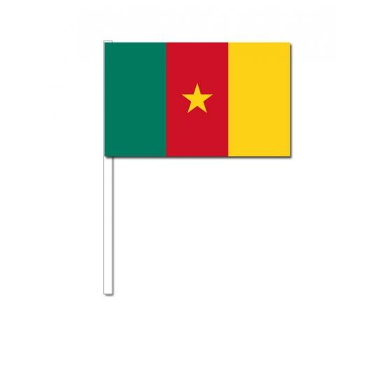 Zwaaivlaggetjes Kameroense vlag