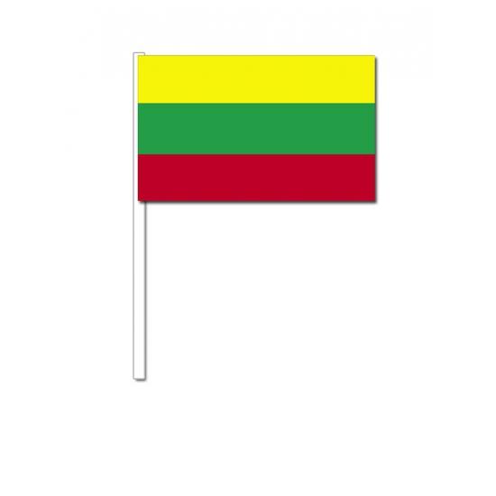 Zwaaivlaggetjes Litouwese vlag