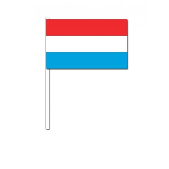 Zwaaivlaggetjes Luxemburgse vlag
