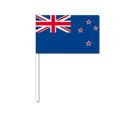 Zwaaivlaggetjes Nieuw Zeelandse vlag