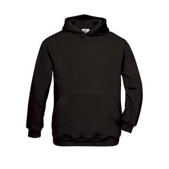 Zwart gekleurde trui voor kinderen