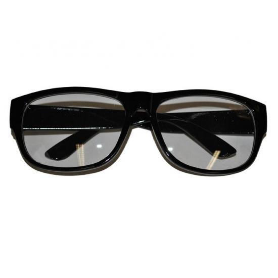 Zwarte feestbril