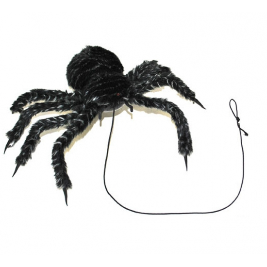 Zwarte mega spin 50 cm
