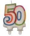 50 jaar cijfer kaars