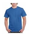 Goedkope gekleurde shirts konings blauw voor volwassenen