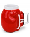 Knock out koffiemok rood