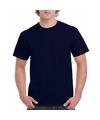 Goedkope gekleurde shirts navy blauw voor volwassenen