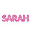 Opblaasbare Sarah letters roze