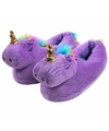 Dieren sloffen eenhoorn paars/regenboog voor meisjes