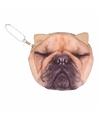 Franse bulldog portemonneetje 10 x 11 cm
